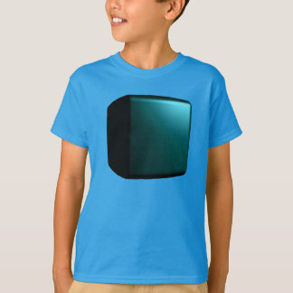 Turquoise Teal 3D Design Customizable Tshirt 2