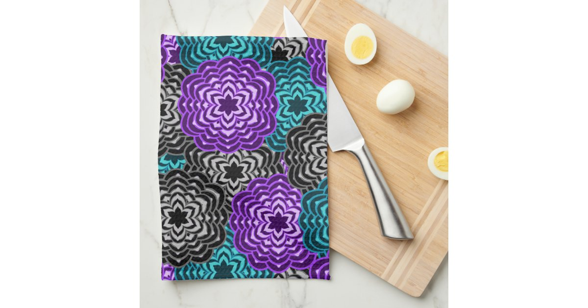 Teal And Purple Kitchen Decor from rlv.zcache.com