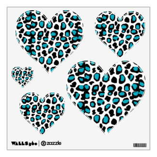 Animal Print Wall Decals Wall Stickers Zazzle