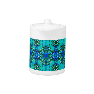turquoise teal blue pattern