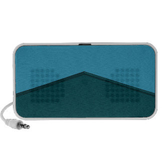 Turquoise Teal texture point iPhone Speaker