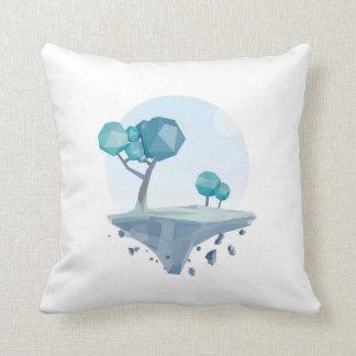 Turquoise Territory Throw Pillow