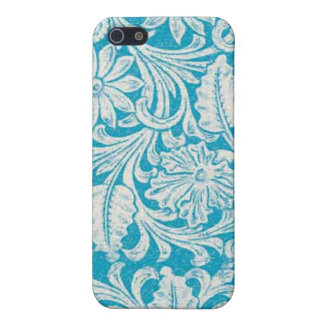Turquoise Tool Leather PRINT Speck Case iPhone 4