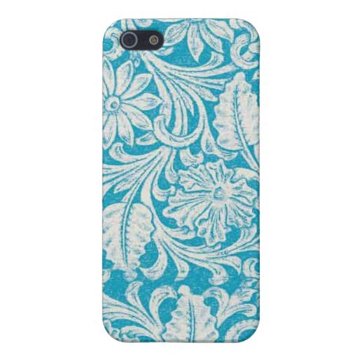 Turquoise Tool Leather PRINT Speck Case iPhone 4 iPhone 5 Covers