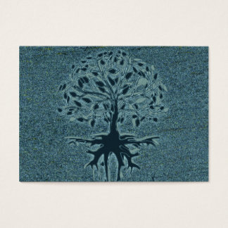 Turquoise Tree of Life Business Card