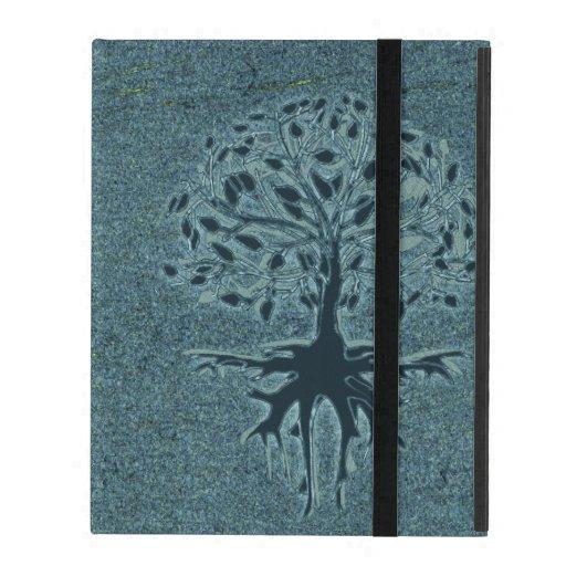 Turquoise Tree of Life iPad Case