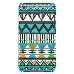 Turquoise Tribal 2 Pattern iPod Touch  Case Case-Mate iPod Touch Case