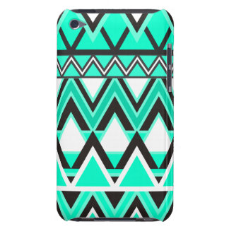 Turquoise Tribal Pattern iPod Case-Mate Cases
