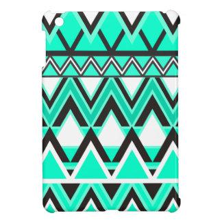 Turquoise Tribal Pattern iPad Mini Case