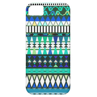 Turquoise Tribal Pattern iPhone 5 Case-Mate Cas iPhone SE/5/5s Case