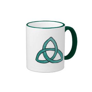 Turquoise Trinity Knot Mug