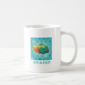 Turquoise Turtles Mug(right handle) Coffee Mug