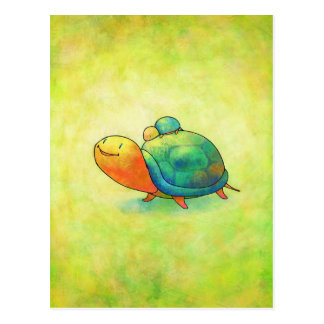 Turquoise Turtles Postcard