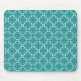 Turquoise Uptown Elegance Mousepad