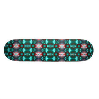 Turquoise Vision Skateboard Deck