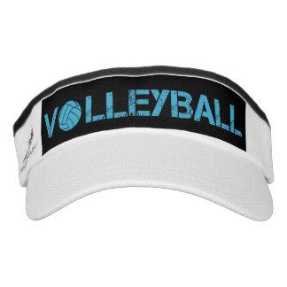 Turquoise Volleyball Sport Sun Visor Headsweats Visor