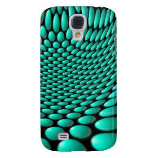 Turquoise Warp Samsung S4 Case