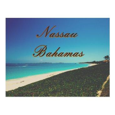 Beach Themed Turquoise Water Beach Postcard