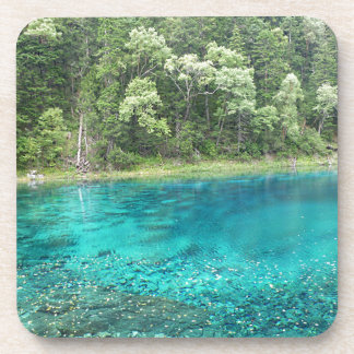 Turquoise Water Drink Coaster