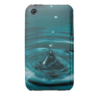 Turquoise Water Drop iPhone 3 Case-Mate Case