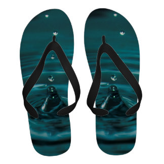 Turquoise Water Drop Sandals