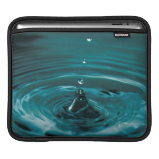 Turquoise Water Drop Sleeve For iPads