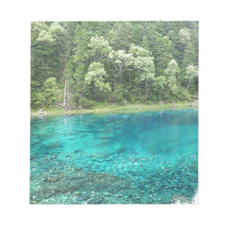 Turquoise Water Notepad