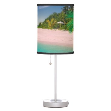 takeme4aride TURQUOISE WATER TROPICAL BEACH LAMP. DESK LAMP