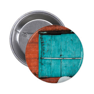 Turquoise Window Button