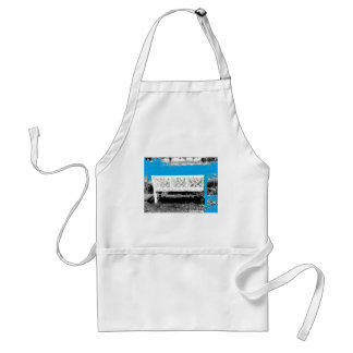 Turquoise with Bench Adult Apron