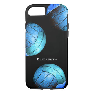 turquoise women's volleyball iPhone 7 case