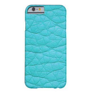Turquoise Wrinkled Faux Soft Leather iPhone 6 case