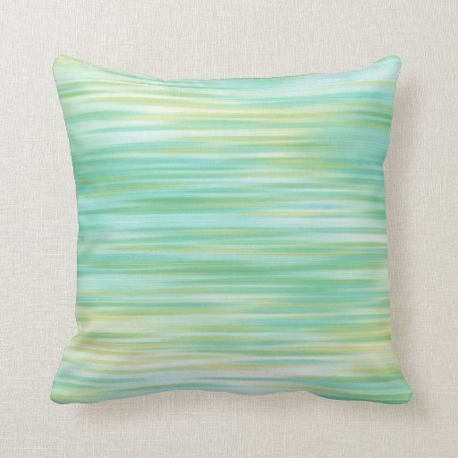 turquoise yellow abstract throw pillow zazzle