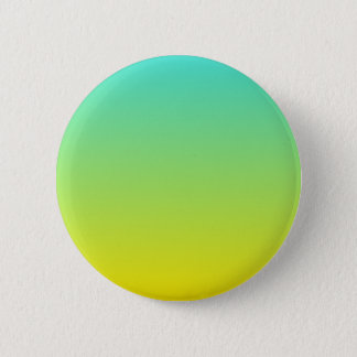 Turquoise Yellow Ombre Button