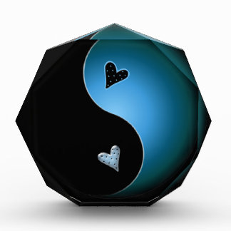 turquoise yin yang award