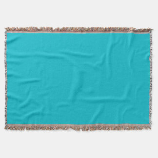 Turquoise Throw Blanket