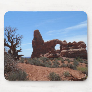 Turret Arch- Arches National Park Mouse Pad