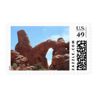 Turret Arch- Arches National Park Postage Stamp