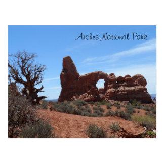Turret Arch- Arches National Park Postcard