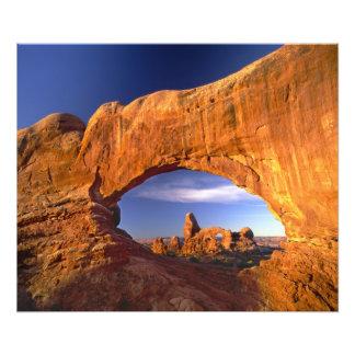 Turret Arch, Arches National Park, Utah, USA Photo Print