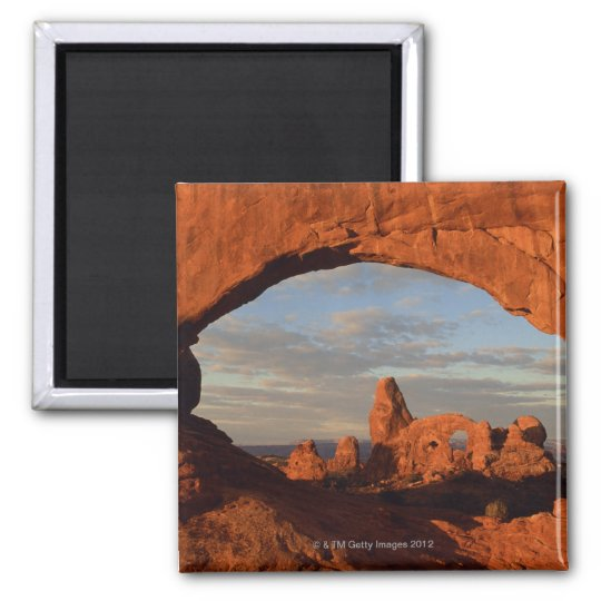 Turret Arch seen through North Window , Arches Magnet