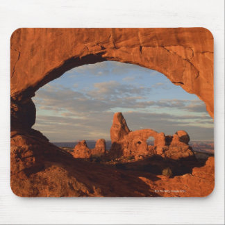 Turret Arch seen through North Window , Arches Mouse Pad