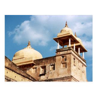 Turret at Amer Fort, Jaipur, Rajasthan, India Postcard