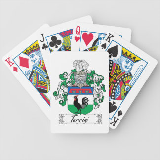 Turrini Family Crest Bicycle Card Deck
