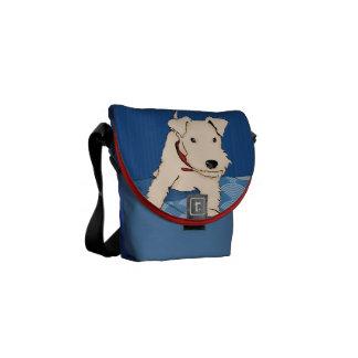 Turron Messenger Bag Bolsa De Mensajería