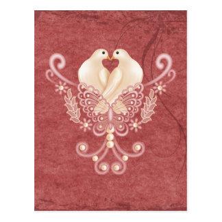 Turteltauben - Love Doves Postcard