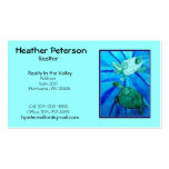 turtle2, Heather Peterson, Realtor, Realty In t... Double-Sided Standard Business Cards (Pack Of 100)