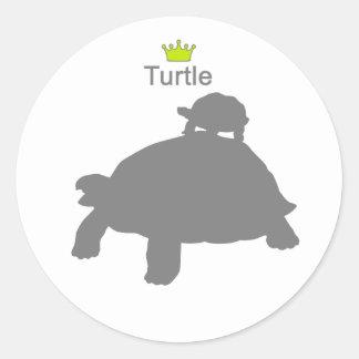 Turtle3 g5 classic round sticker