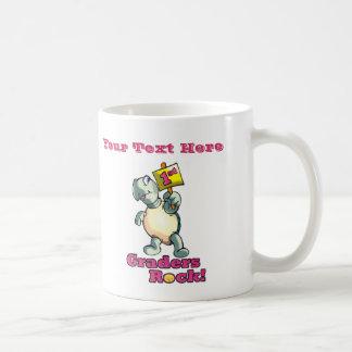 "Turtle ""1st Graders Rock"" Design Coffee Mug"