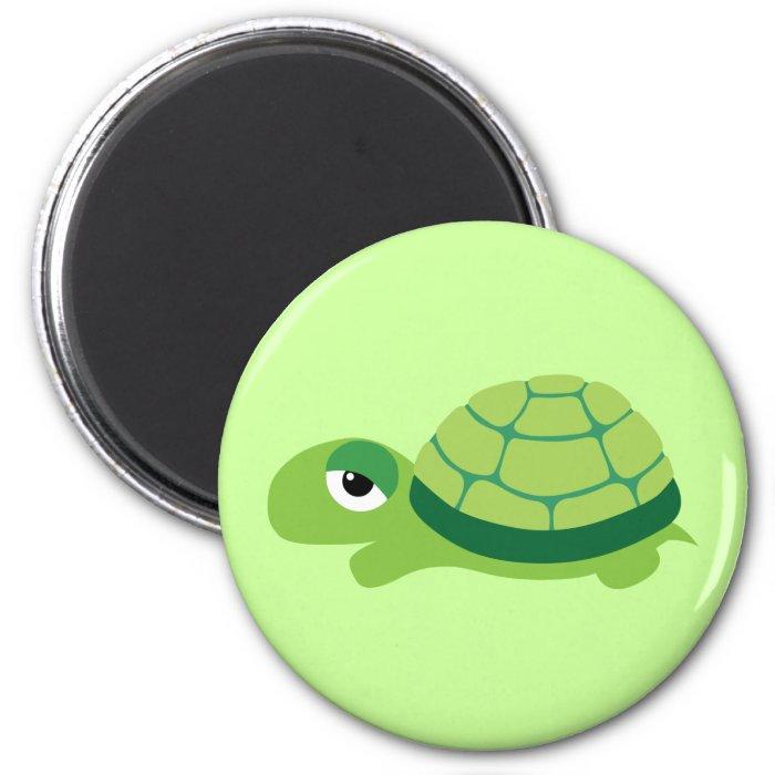 turtle 2 inch round magnet